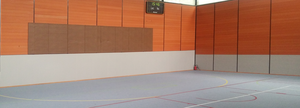 ANDAMIA protection murale gymnase 2